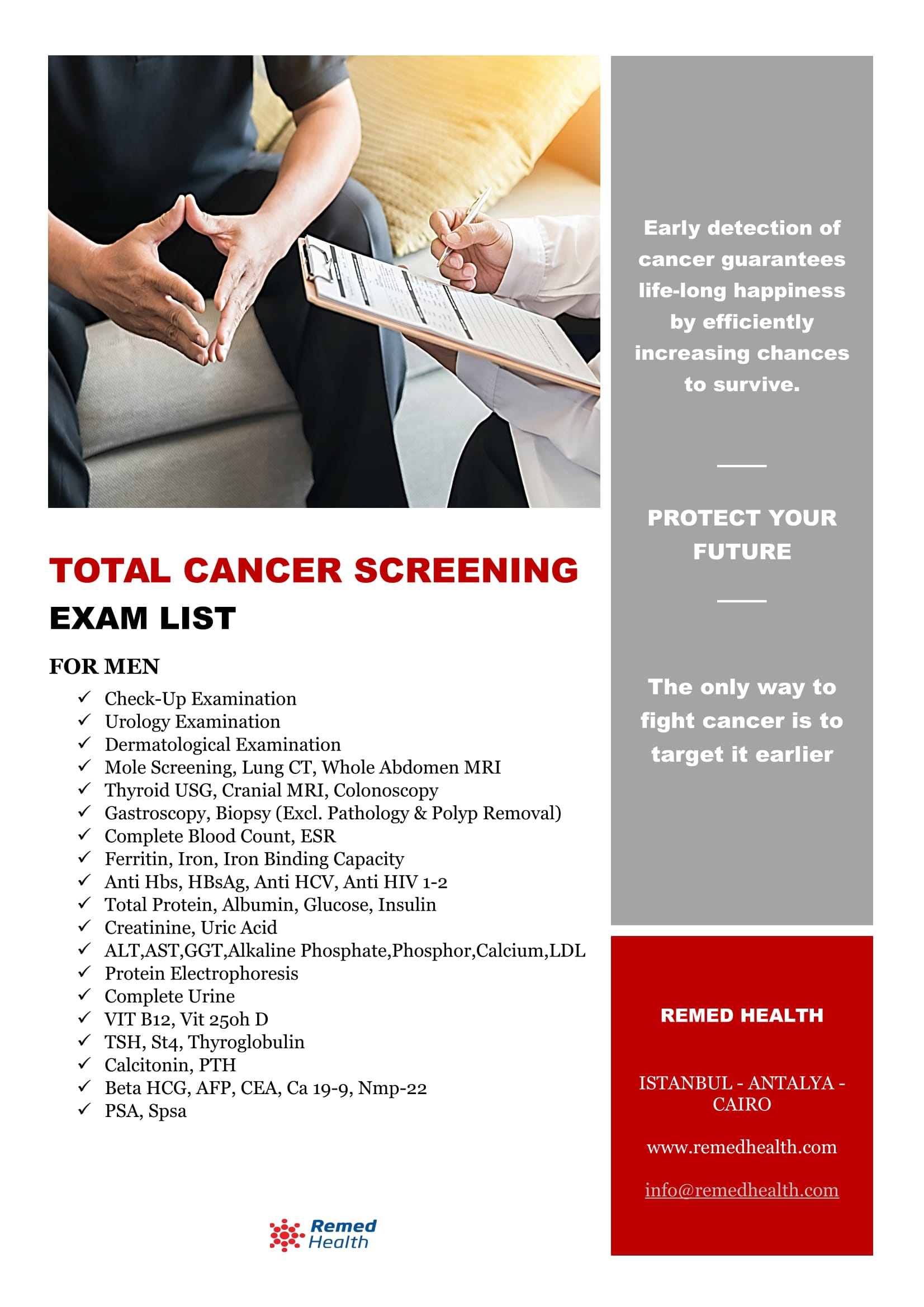 Total Cancer Screening